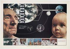 Superstudio, Atti Fondamentali, Educazione, Progetto 1, 1971 Collezioni MAXXI…