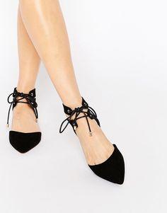 Bild 1 von Carvela – Marley Ghillie – Flache Schuhe