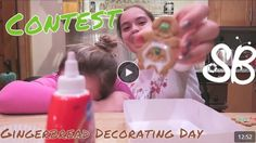 The Social Sisters decorate gingerbread families in celebration of Gingerbread Decorating Day! https://youtu.be/8WNcgRVeBjo Two posts/chances to win check morn&evening! This week's contest is a $25 iTunes GC! Winner announced 12/12! Good Luck! To win this prize: Follow and like us on all of our social media platforms (click through from website)!  Like this post for entry and let your friends know, so they don't miss out.  For contest rules, see website: https://socialbutterflymagazine.com/
