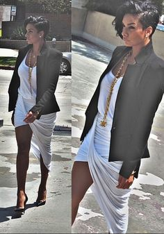 Pinterest : hair004 ~ Hair and dress. Cute