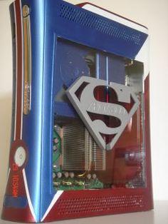 Superman themed Xbox 360