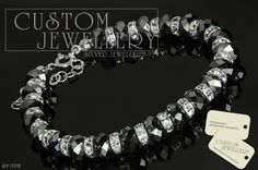 #Biżuteria na #kryształkach #Swarovski #srebro925  zapraszamy http://www.customjewellery.pl/customjewellery-bransoletka-srebrna-briollete-made-with-swarovski-elements-12617.html