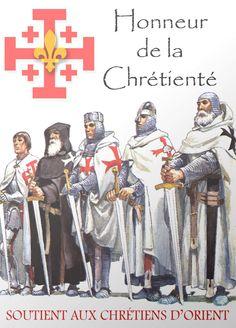 The Crusader Knight orders Crusader Knight, Knight Armor, Knights Hospitaller, Knights Templar, Medieval Knight, Medieval Armor, Medieval Life, Knight Orders, Empire Romain