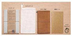 Midori Traveler's Notebook - 5th Anniversary Limited Edition - Camel