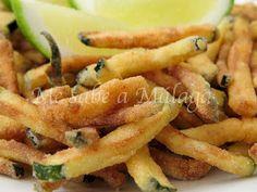 Me sabe a Málaga: Chanquetes de la huerta Onion Rings, Malaga, New Recipes, Tapas, Seafood, Food And Drink, Meat, Ethnic Recipes, Cooking