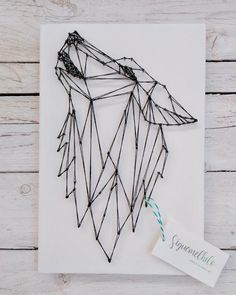 Latest Trend In Embroidery on Paper Ideas. Phenomenal Embroidery on Paper Ideas. String Art Diy, Minimal Drawings, World Map Art, String Art Patterns, Magazine Crafts, Paper Embroidery, Geometric Lines, Summer Crafts, Home Art