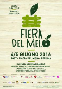 """In arrivo a Perugia la Fiera del Melo, un evento interamente """"formato bambino"""". Due giorni di artigianato, scienza e creatività per tutta la famiglia"""