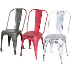 Cafe Metal Side Chair (India)