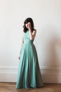 6db635669ce Long One Shoulder Bridesmaid Dress