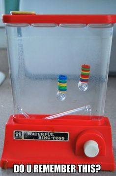 I so remember playing with one of these .... you know, back in the 80s! :)