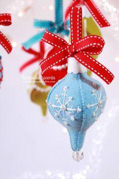 Passo a passo gratuito de como confeccionar enfeites de Natal estilo Vintage!