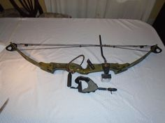 Vintage Bear Flare Compound Bow. Cobra release Included #BearArchery