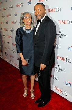 The Time 100 Most Influential People Gala.....Lee Daniels and His Mom.