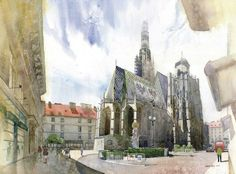 grzegorz wrobels watercolor paintings part2 4 Grzegorz Wróbel: watercolor paintings {Part 2}