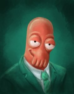 Zoidberg CEO by mythsnlore on DeviantArt