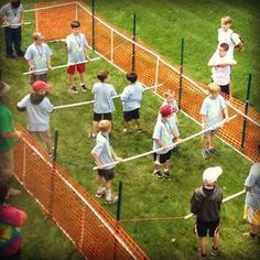 Human Fooseball and other scout meeting ideas