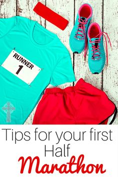 Want to run a half marathon? Don't miss these tips for first time runners! Homeschool moms -- you can do this!