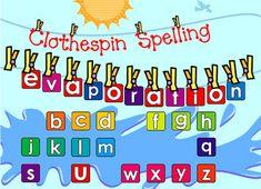 Spelling Smartboard Activity