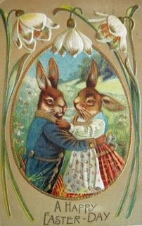 Ma & Pa Bunny wish us all a Happy Easter Day