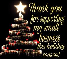 Thank you for supporting my small business this holiday season! Small Business Quotes, Best Business Ideas, Small Business Saturday, Business Tips, Body Shop At Home, The Body Shop, Interactive Facebook Posts, Lemongrass Spa, Tastefully Simple