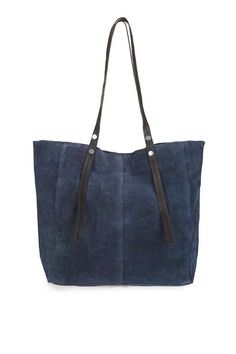 Leather Rivet Detail Shopper Bag