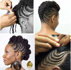 Side Braids Hairstyles for African American black Women. Black Women Hairstyles, Braided Hairstyles, New Hairstyles, Natural Hairstyles Natural Hair Braids, Natural Afro Hairstyles, African Braids Hairstyles, Braids For Black Hair, Girl Hairstyles, Braided Hairstyles, Hair Twist Styles, Braid Styles, Curly Hair Styles