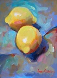 still life paintings - paintings by erin fitzhugh gregory. Can't get enough of this artist! Love her work! L'art Du Fruit, Fruit Art, Lemon Painting, Fruit Painting, Painting Still Life, Paintings I Love, Still Life Fruit, Art Graphique, Art Oil