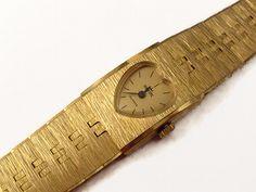 80er+HERZ+Armbanduhr+Vintage+Uhr+Einzelstück+gold++von+Mont+Klamott+-+seltene+Vintage+Einzelstücke:+Liebzuhabendes,+Verspieltes,+Tickendes,+Klunkerndes,+Zauberhaftes,+Antikes,+Kurioses,+Schmuck+&+Uhren++auf+DaWanda.com