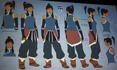 Book SPIRIT, Concept Art - avatar-the-legend-of-korra Photo Character Model Sheet, Character Modeling, Character Concept, Concept Art, Legend Of Korra, Marvel Characters, Female Characters, Pokemon, The Legend Of Korra