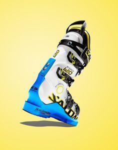 Salmon Ski Boot