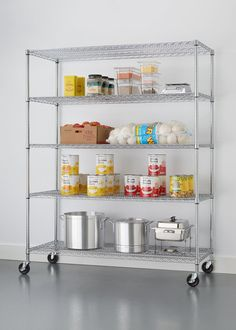 Best Of Chrome Kitchen Shelving Unit