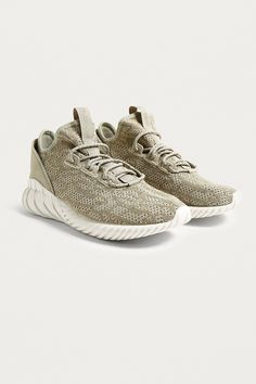 hot sale online 1375b d2075 adidas Tubular Doom Sand Trainers