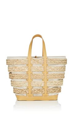 b4aad42ef995 We Adore: The Straw Paco Rabonne $1390 Linen Tshirts, Designer Totes,  Yellow Leather
