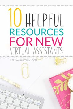 Click through for 10 amazingly helpful resources every virtual assistant should know about. These resources include tools, courses, and websites with advice! Business Tips, Online Business, Business Planning, Planners, Virtual Assistant Services, Assistant Manager, Work From Home Tips, Apps, Time Management