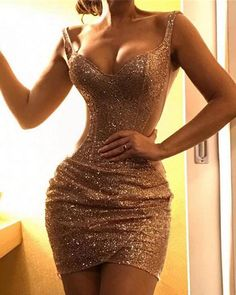 Women Qesuin Sheath Bodycon Party Evening Dress Vestidos Sexy Spaghetti Strap Sequin Bodycon Dress Off Shoulder High Waist Dress, Gold / XL Party Dresses Uk, Sexy Dresses, Cute Dresses, Evening Dresses, Low Cut Dresses, Party Dresses For Women, Dance Dresses, Dress Party, Trend Fashion