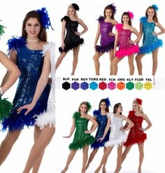 Express yourself dance costume feather flapper dress tap clearance upon receipt costumes may need to be sized to your individual fit sized meaning solutioingenieria Gallery