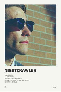 Nightcrawler alternative movie poster visit my Store