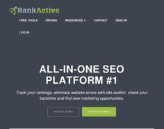 RankActive - Facilitate your SEO-work!
