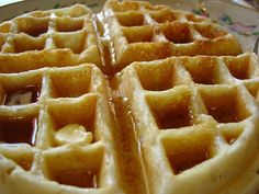 The Sisters Dish: Buttermilk Waffles