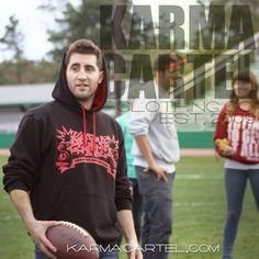 Speaker Freaker hoodie featured here. #streetwear #hoodie #football