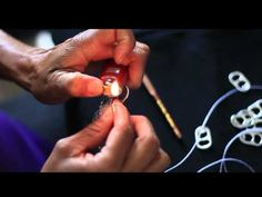 How to Crochet a Pop Top Christmas Ornament