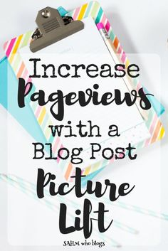 Updating some of your blog post images can help bring more traffic to your blog! Check out blog post picture update tips here.