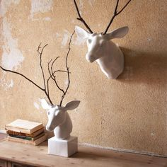 Ceramic Deer Head | dotandbo.com