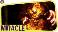 Dota 2- Miracle Shadow fiend - CRAZY KILLER
