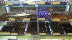 over 20 varieties of Asher's Chocolates!