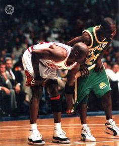 Jordan was the best at pants-ing opponents mid-game!