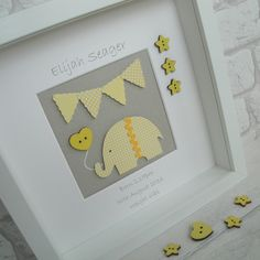 My personalised elephant nursery pictures are proving really popular as New Baby gifts and Christening gifts. so I've added a new colour to the range. my Ellie wall art is now available in oh-so-cute yellow and grey. Baby Girl Gifts, New Baby Gifts, Scrabble Art, Scrabble Crafts, Nursery Pictures, Elephant Nursery, Elephant Baby, Baby Frame, Box Frames