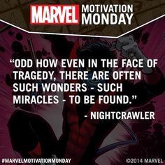 It's #MarvelMotivationMonday!