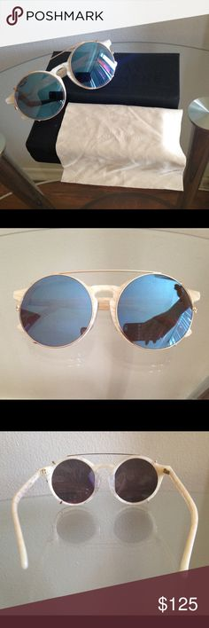 SUNDAY SOMEWHERE Matahari Sunglasses SUNDAY SOMEWHERE Matahari Mother of Pearl Sunglasses • BRAND NEW, NEVER WORN! • Comes with case, box and cleaning cloth Accessories Sunglasses