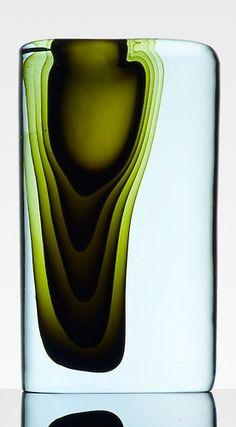 Antonio da Ros, Sasso vase, Italy, 1959, pined from Chris Dangtran